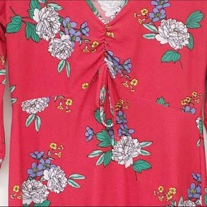 Bobbie Brooks Dresses - Bobbie Brooks Ladies Red Dress